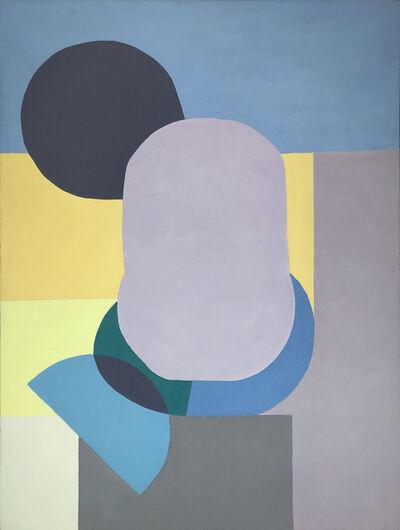 Beatrice Mandelman, 'Yellow, Grey and Blue', 1970-1979