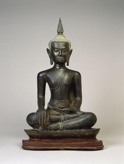 'Buddha at the Moment of Victory', 14th-15th century