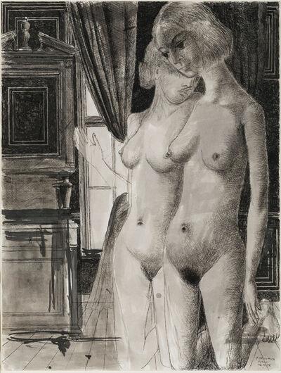 Paul Delvaux, 'Les confidences', 1972