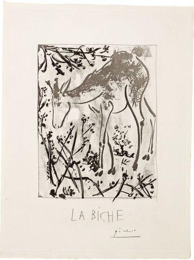 Pablo Picasso, 'LA BICHE (B. 336; BA. 583)', 1936
