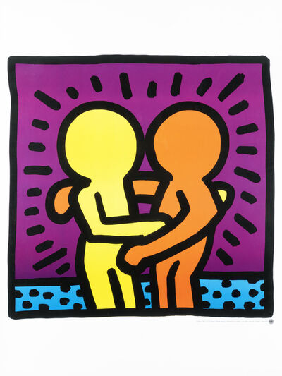 Keith Haring, 'Untitled (Best Buddies)', 1987