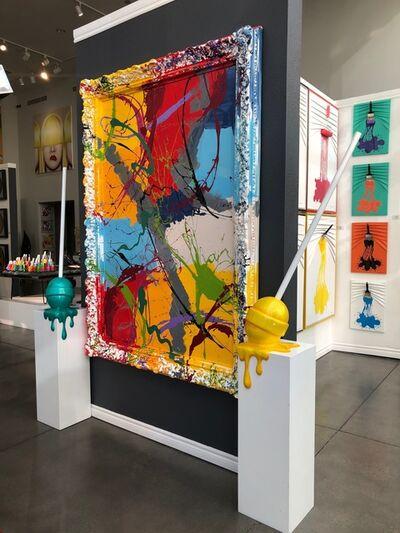 Elena Bulatova, 'Abstract Painting with Frame', 2019