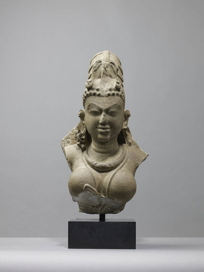 Unknown Indian, 'Bust of Vishnu', 10th century