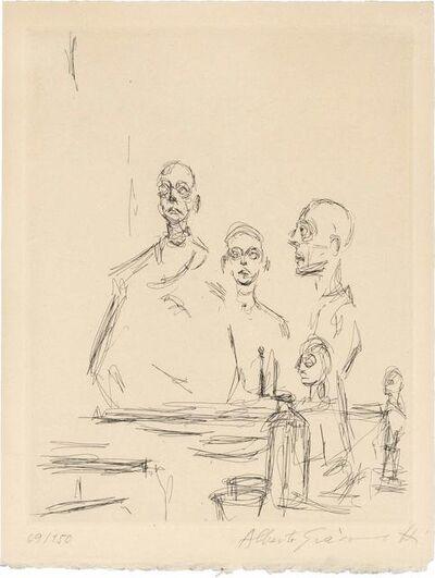 Alberto Giacometti, 'SCULPTURES DANS L'ATELIER (L. 185)', 1964