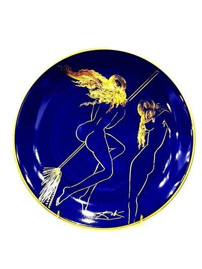 """Salvador Dalí, 'Limoges Porcelain Blue and Gold """"Sabat"""" by Salvador Dali', 1968"""