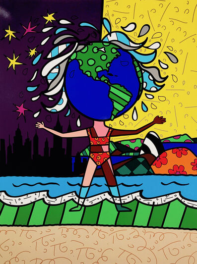 Romero Britto, 'Globe Generation Series – The Americas', 2015