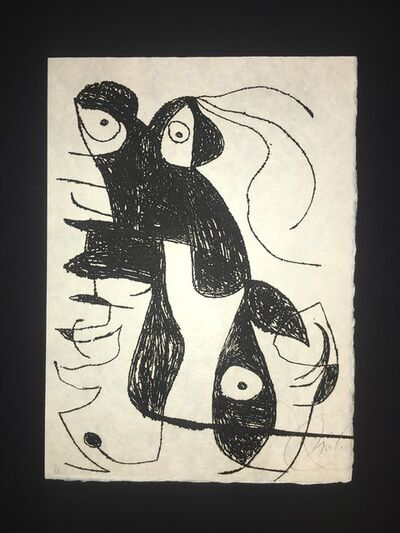 Joan Miró, 'Inscribe', 1975