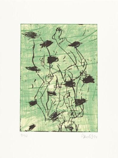 Georg Baselitz, 'Wienballet', 1991