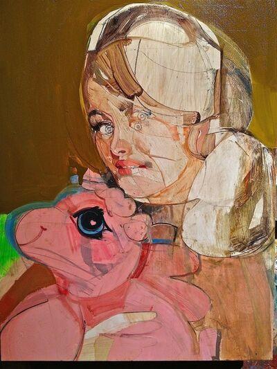 Karim Hamid, 'Lady With Pink Pony', 2012