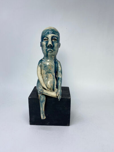 Ashley Benton, 'Ceramic Figurative Sculpture: 'Bhumisparsa Mudra'', 2021