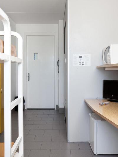 Robert Glas, 'Voor vrij Nederland (immigration detention, location Rotterdam) left image', 2015