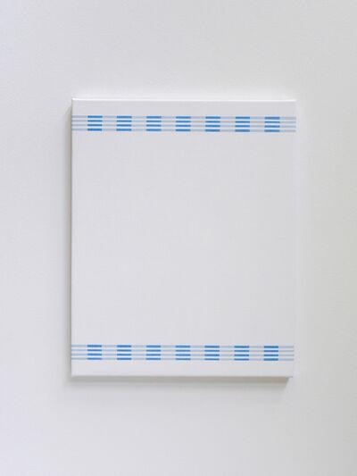 Kristina Matousch, 'Cover, Blue Vertical', 2019