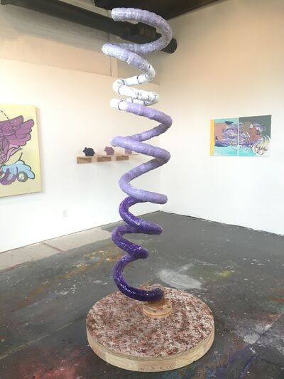 Val Curry, 'Alpha-helix', 2016