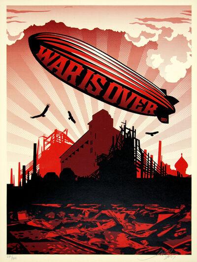 Shepard Fairey, 'War Is Over', 2007