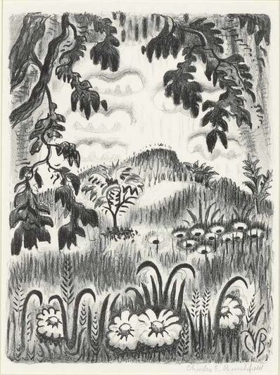Charles Ephraim Burchfield, 'Summer Benediction (P. 193)', 1951-52