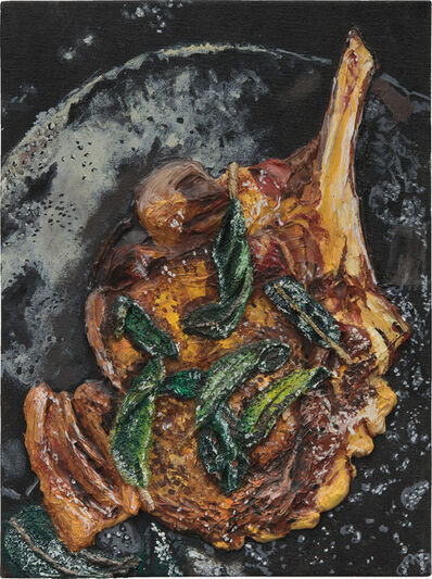 Gina Beavers, 'Pork Chop and Basil', 2012