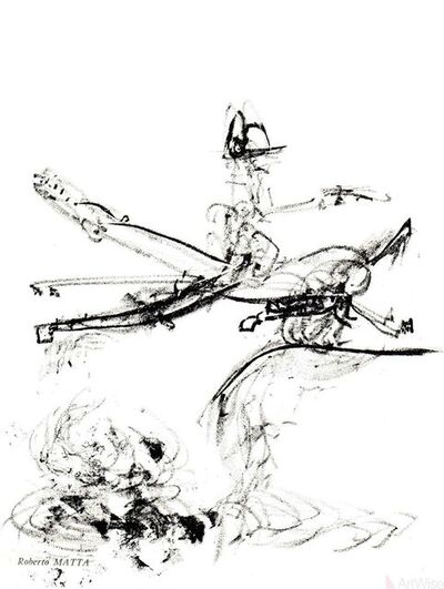 Roberto Matta, 'Untitled Composition', 1967