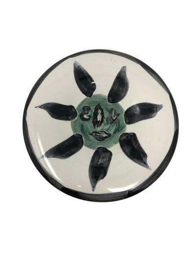 Pablo Picasso, 'Madoura Ceramic Plate- Visage no. 127 (A.R. 478)', 1963