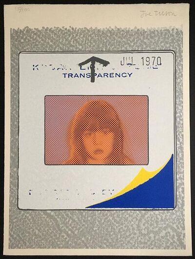 Joe Tilson, 'Transparency, Snapshot ', 1970
