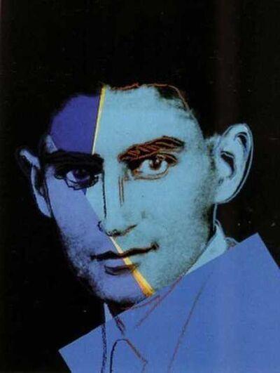 Andy Warhol, 'Franz Kafka (FS II.226)', 1980