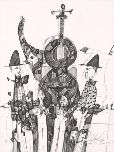 Luka Brase, 'Street Music', ca. 2019