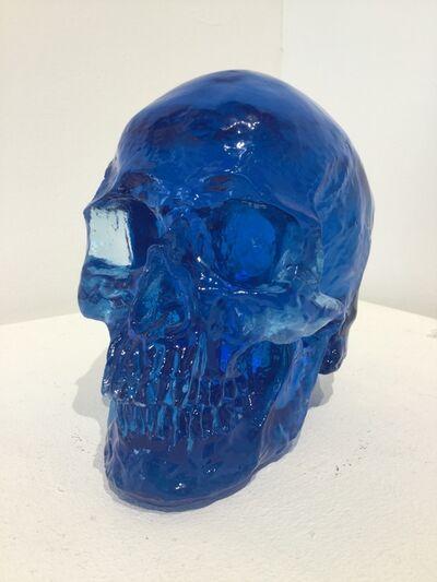 Sam Tufnell, 'Sam Tufnell, Midnight Blue Skull ', 2018