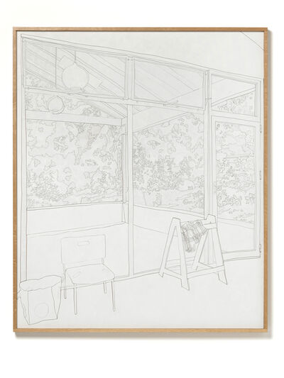 Andy Ouchi, 'Studio, Looking West', 2020