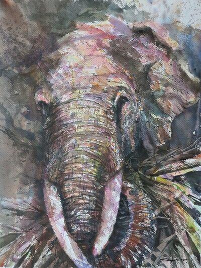 Sawan Tantiwan, 'Kuiburi Elephant Reserve IV', 2020