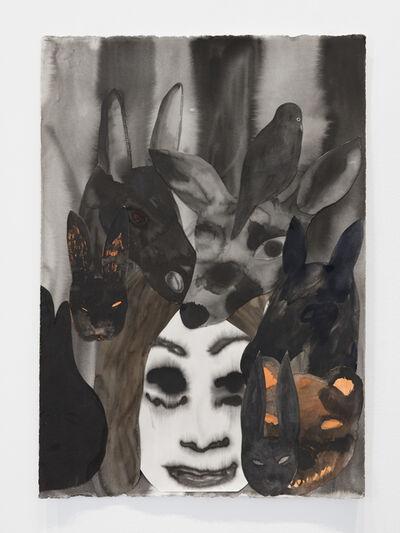 Klara Kristalova, 'Snövit (natt) / Snow White (Night)', 2020
