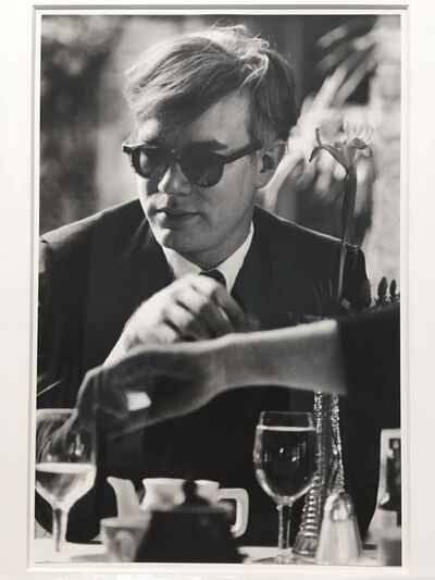 Dennis Hopper, 'Andy Warhol (at table)', 1963