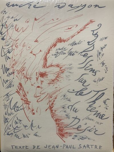 André Masson, 'Vingt deux dessins sur le thème du désir', 1961