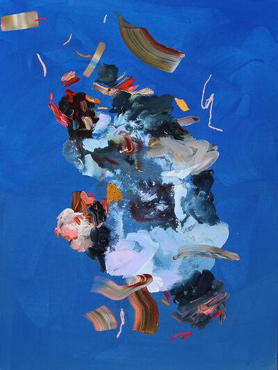 Janna Watson, 'Fragments of Blue Dense', 2019
