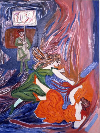 Susan Bee, 'Fighters', 1983