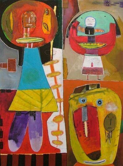 Kamel Berkouk, 'Ariadne's Ladder'