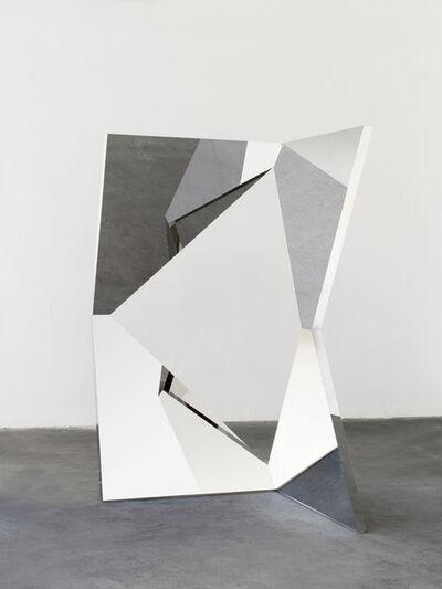 Jeppe Hein, 'Twisted Geometric Mirror III', 2020