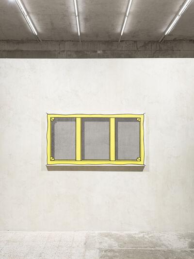 Roy Lichtenstein, 'Exhibition view, featuring Roy Lichtenstein, Stretcher frame with vertical bar', 1968