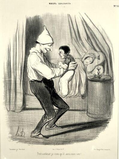 Honoré Daumier, 'Petit Scélerat!', 1839