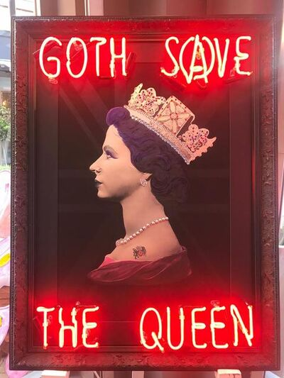 Illuminati Neon, 'Goth Save the Queen', 2020
