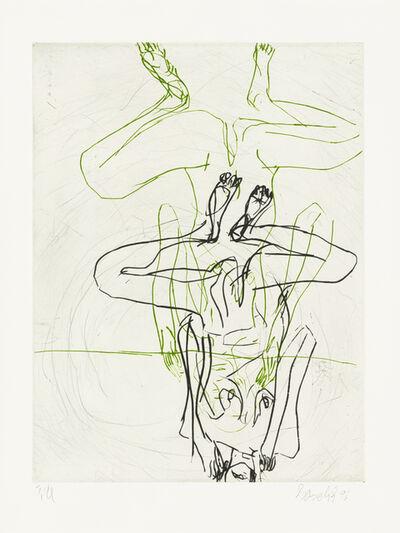 Georg Baselitz, 'Doppelakt', 1997