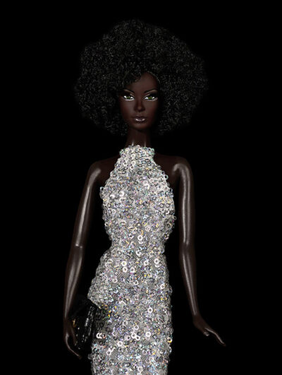 Cecile Plaisance, 'Silver Glitter '