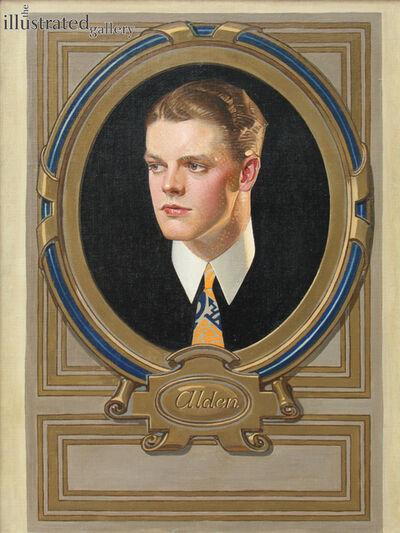 Joseph Christian Leyendecker, 'Alden--Arrow Collar Ad', 1922