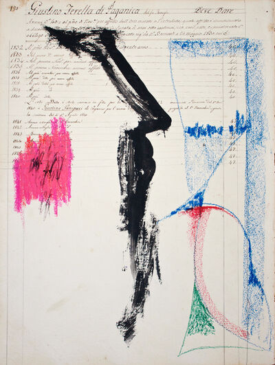 Marcello Mariani, 'Evocazione dell'Angelo n.3', 1990-1995