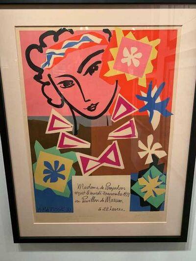 Henri Matisse, 'Madame de Pompadour', 1951