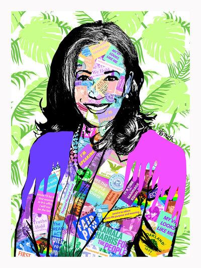 Amy Smith, 'Kamala Harris - Contemporary POP Art Portrait of Vice President Elect', 2020