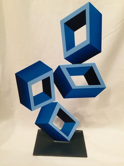 Daniel Sanseviero, 'Blue ¾', 2021