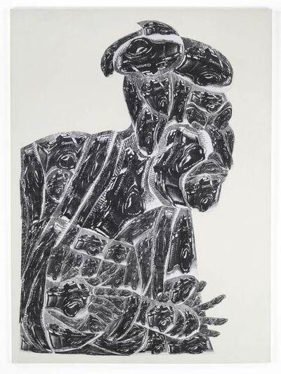 Thomas Bayrle, 'Canon Meets Sharaku', 1989