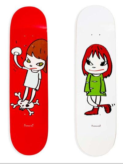 Yoshitomo Nara, 'Yoshitomo Nara Skateboard Deck Set'
