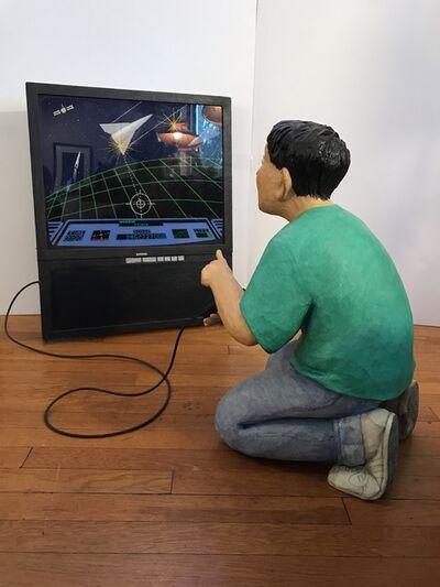 Stephen Hansen, 'Child Playing Video Games'