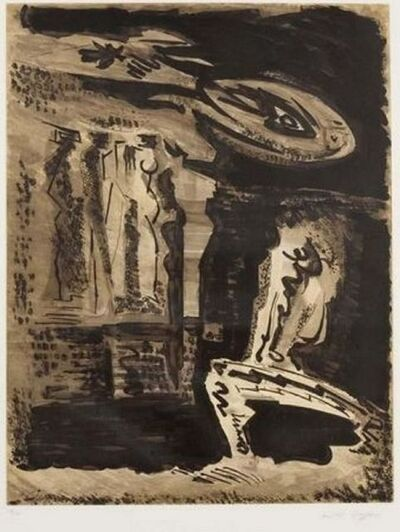 André Masson, 'The guardians of Silence I ', 1973