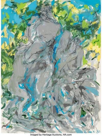 Elaine de Kooning, 'Bacchus VIII', 1980